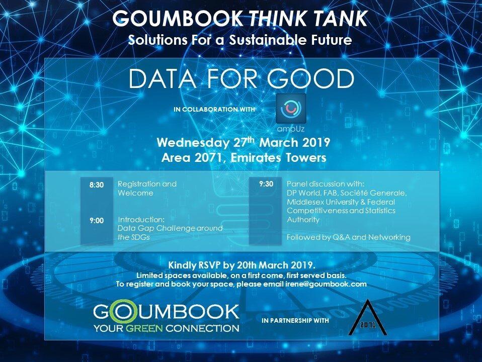 Panel on Data for Good: Impact Metrics – 27 March