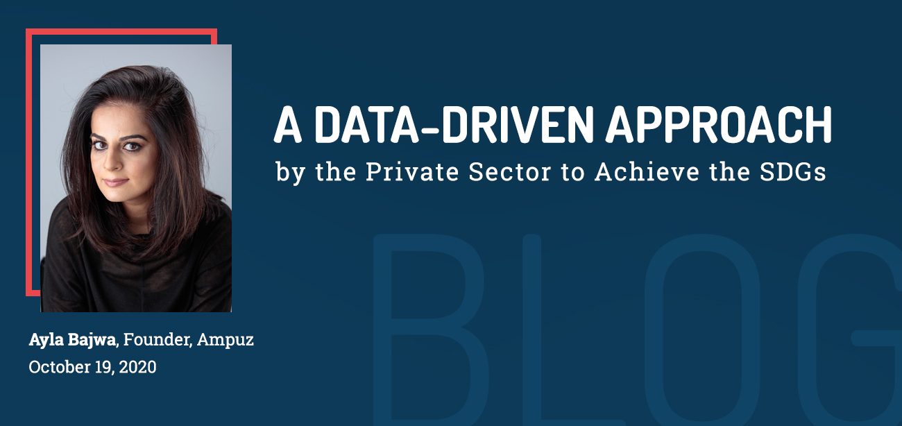 A Data-Driven Approach by the Private Sector to Achieve the SDGs